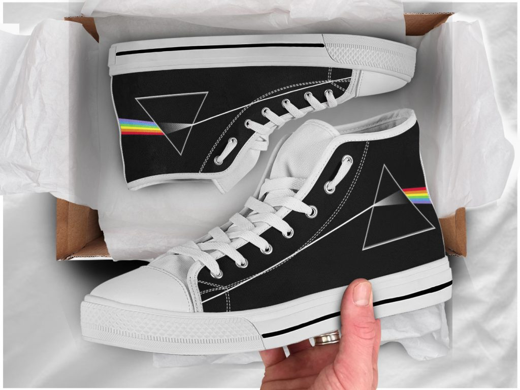 Pink Floyd Shoes | Custom High Top Sneakers For Kids & Adults